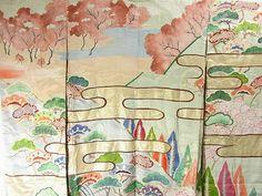 Furisode #245384 Kimono Flea Market Ichiroya