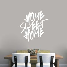 Sweetums Home Sweet Home Wall Decal
