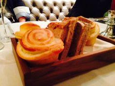 Homemade potato bread Potato Bread, Menu Restaurant, Waffles, Potatoes, Homemade, Breakfast, Food, Morning Coffee, Meal