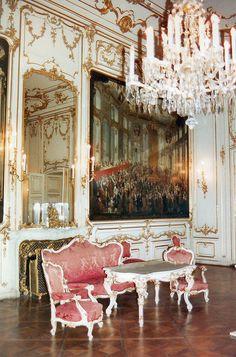 Vienna Schönbrunn Palace Interior , Austria
