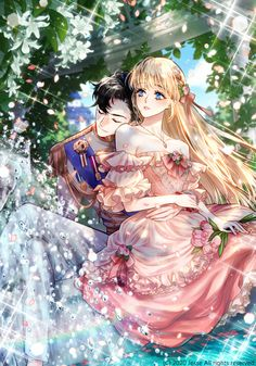 Romantic Anime Couples, Anime Couples Drawings, Anime Couples Manga, Manhwa, Fantasy Couples, Romance Comics, Anime Wallpaper Live, Estilo Anime, Anime Love Couple