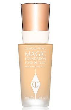 Charlotte Tilbury's Magic Foundation is a miracle in a bottle that transforms skin for all ages, skin tones and skin types. Apply with a complexion brush for flawless, poreless, weightless coverage.