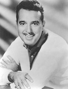 """Tennessee Ernie"" Ford (1919 - 1991) Country music singer, he had a big hit with ""Sixteen Tons"", he was host of ""The Ford Show"" on TV for five years"