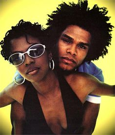 Maxwell and Lauryn