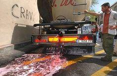 Respuesta española: Se bloquearán camiones cisterna de leche gala si siguen los…