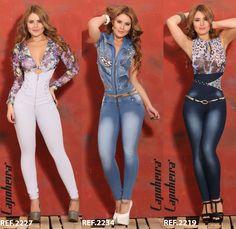 Pathy Modas: Enterizo jean colombiano levanta cola.                                                                                                                                                                                 Más