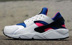 On that Nike huarache vibe.