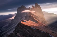 Attention Grabber. Alps. Photography by Max Rive