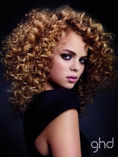 golden brunette