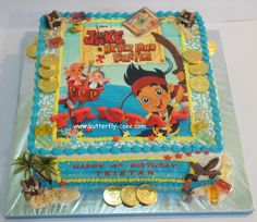 Jake And The Neverland Pirates Cakes - www.birthrightearth.org