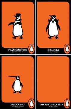 Versiones literarias del pinguino editor... :-)