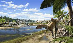 Raúl Martín: Concavenator, Pelecanimimus and Iguanodon