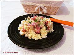 Tăiței lați cu afumătură Grains, Rice, Food, Essen, Meals, Seeds, Yemek, Laughter, Jim Rice