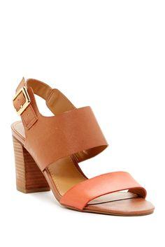 Gothic Block Heel Open Toe Sandal by Franco Sarto on @nordstrom_rack