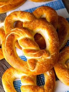 Homemade-Soft-Pretzels Recipe - RecipeChart.com