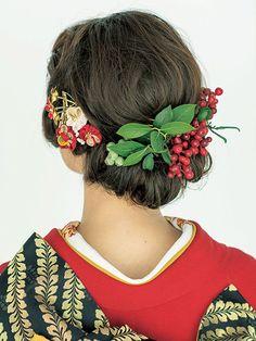 【花嫁ヘアスタイル カタログ】 和装ヘア編 | ウエディング | 25ans(ヴァンサンカン)オンライン