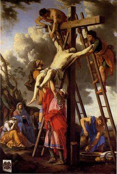 laurent de la hyre | LA HYRE Laurent de:Descente de croix.