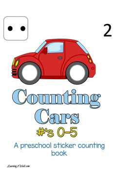 Working on the numbers 0-5 and fresh out of ideas of preschool activities? Why not make it a fun activity with this free counting cars preschool sticker book? Cars Preschool, Preschool Learning Activities, Counting Activities, Free Preschool, Free Math, Preschool Curriculum, Preschool Themes, Fun Learning, Teaching Kids