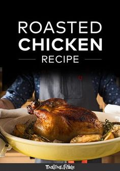 Brined then smothered in butter, this simple roast chicken is a game changer. Good brine, easy roast with butter and herb rub over and under the skin.