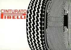 Pino Tovaglia, poster for Pirelli, 1967. Italy