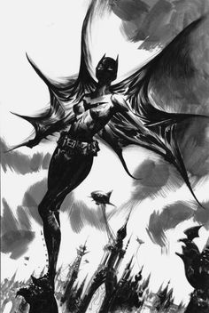 Cassandra Cain Batgirl - Jae Lee