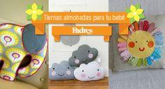 Almohadas decoradas para bebés