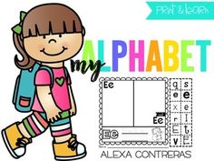 ****UPDATED****Your students will have lots of fun with these adorable alphabet practice pages! There is a page for each letter of the alphabet where your kids will sort the letters, trace the uppercase and lowercase letters and color. I hope you like these activities!