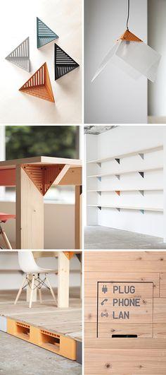 Mozilla Japan Office. オープンソースをテーマに、 Mozillaモジュールというシグネチャを作って誰でも物を作れるような空間を設計。  10+1 web site エレメントとエデュケーション──型と道からなる日本の建築デザイン:《Mozilla Factory Space》 テンプラスワン・ウェブサイト