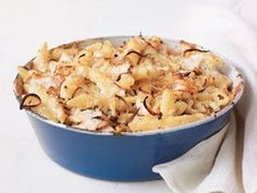 Macaroni and Cheese with Chicken  - CountryLiving.com