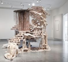 """Diana Al-Hadid's Trace of a Fictional Third"" by John Ravenal 