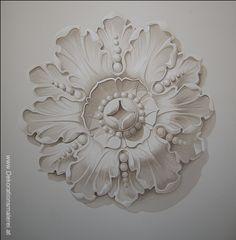 grisaille rosette-Dekorationsmalerai.at