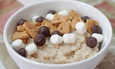 Happy Oatmeal Day smores-oatmeal-recipe