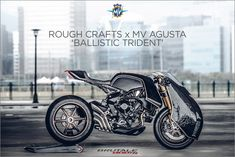Gothic masterpiece: This is the latest from Rough Crafts, a custom Brutale 800 RR commissioned by MV Agusta.