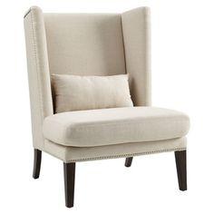 Sunpan Malibu Linen Wing Back Chair - Overstock™ Shopping - Great Deals on Sunpan Living Room Chairs
