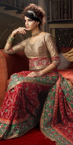 Not all saree blouses have to be bikini blouses and reveal more    saree blouse design