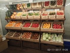 Opening of a small vegetable and fruit store (15 sq.m.)