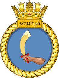 P271 HMS Scimitar