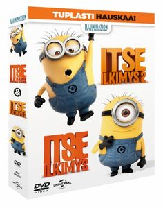 Itse Ilkimys 1-2 Boksi  (DVD) 9,95 e