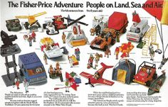 Fisher Price Adventure People