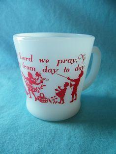 Fire King - Mug Prayer