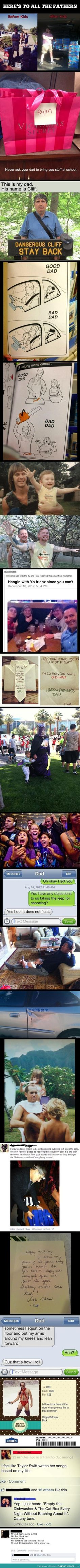 Parenting done right. My dad!!<3