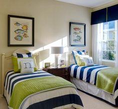 Coastal Cottage Twin Room