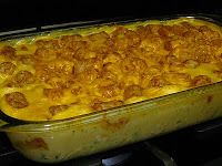 Fabulously Delicious: Cheesy Chicken and Broccoli Tator Tot Casserole