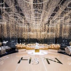 Umm is that a house or a cake? 😍😍😍 Is bigger better? WOW check out cakes of all… Luxury Wedding Decor, Art Deco Wedding, Wedding Ideas, Wedding Ceiling Decorations, Wedding Mandap, Wedding Stage Backdrop, Wedding Receptions, Magical Wedding, Glamorous Wedding