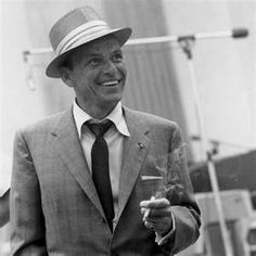 Frank Sinatra...the voice, the eyes, the good loooks.