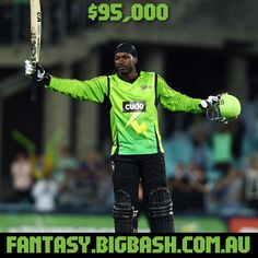 Superstar Henry Gayle is expensive at $95,000 but he can win you a fantasy title off his own bat!