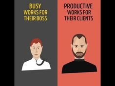 Busy vs Productive - Huge deference