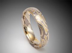 Mokume Gane Rings and Jewelry from James Binnion Metal Arts. - Unique Mokume Wedding Bands, Mokume Engagement Rings, Mokume Wedding Rings by James Binnion.