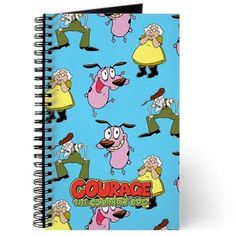 Courage The Cowardly Dog Journal