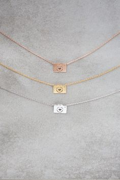 Cute camera necklace for all photographers